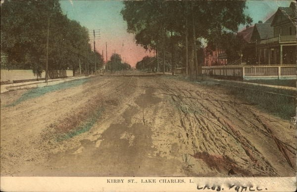 Vintage photo of Kirby Street