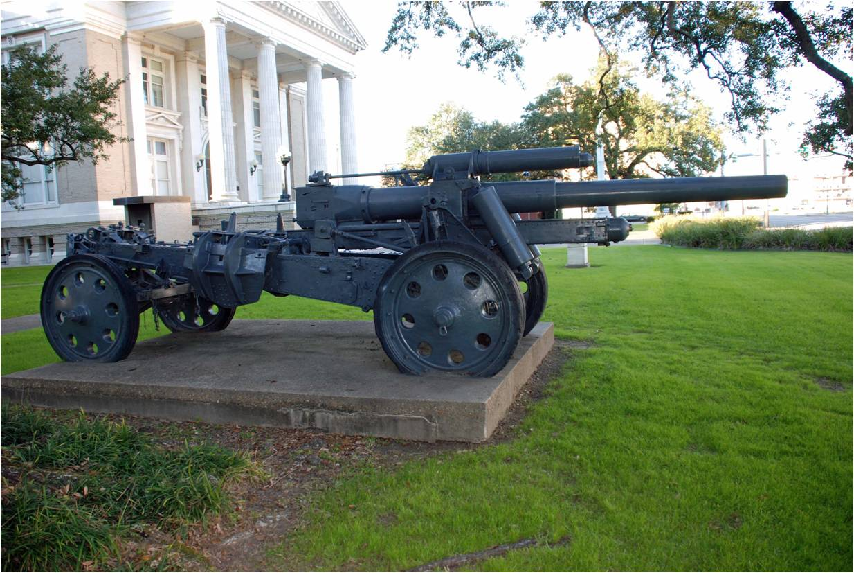 Armaments of war courthouse Howitzer