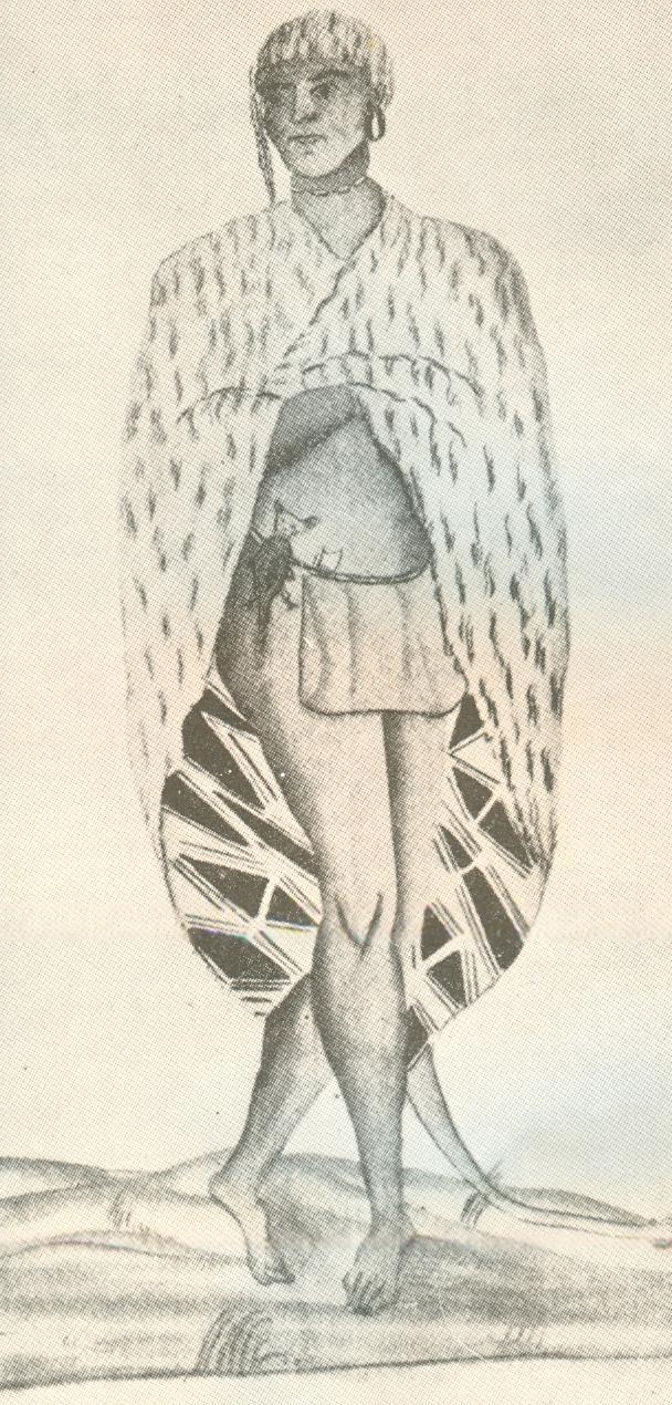 Attakapas Indian, Public Domain Image, Wikipedia