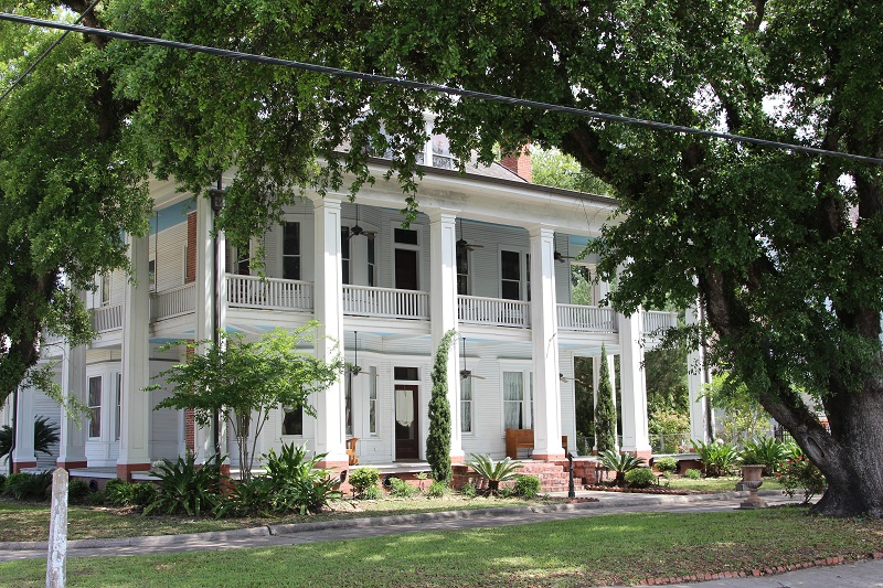 This Broad Street home is one of 4 offered on the Louisiana Preservation Tour