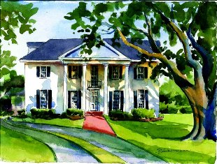 205 Shell Beach Drive, Lake Charles, Artwork by Sue Zimmermann