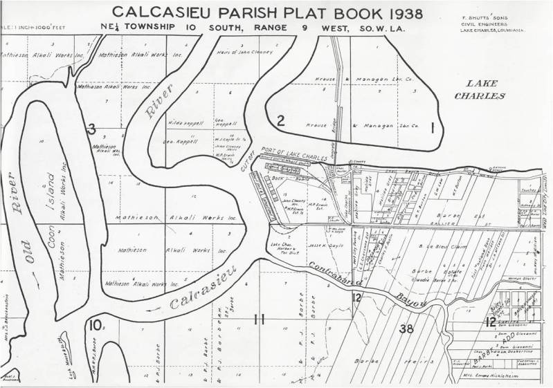 Parish Plat Book, Shell Beach Drive