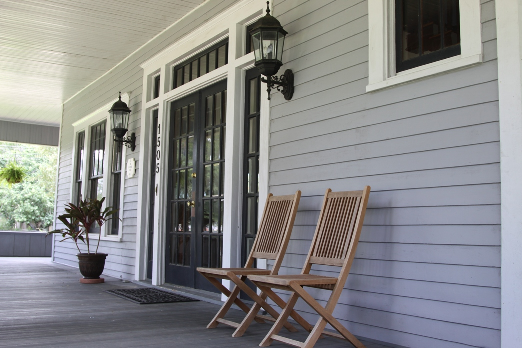The porch of 1505 Griffith will be highlighted during the Margaret Place Fan Tour
