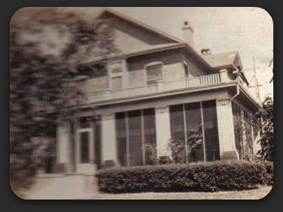 330 Wilson from Locke Scrapbooks showing screened in porch