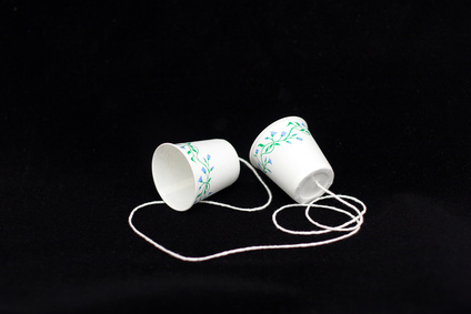 When you absolutely have to talk