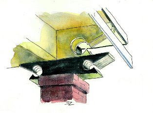 Architectural Accent...so typical of Margaret Place